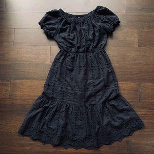 SHEIN eyelet dress
